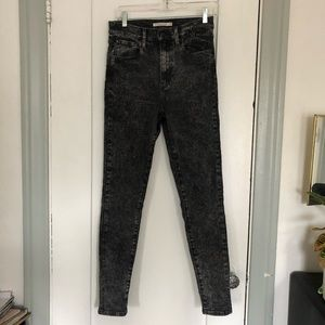 Levi's Mile High Superskinny in Night After Dark